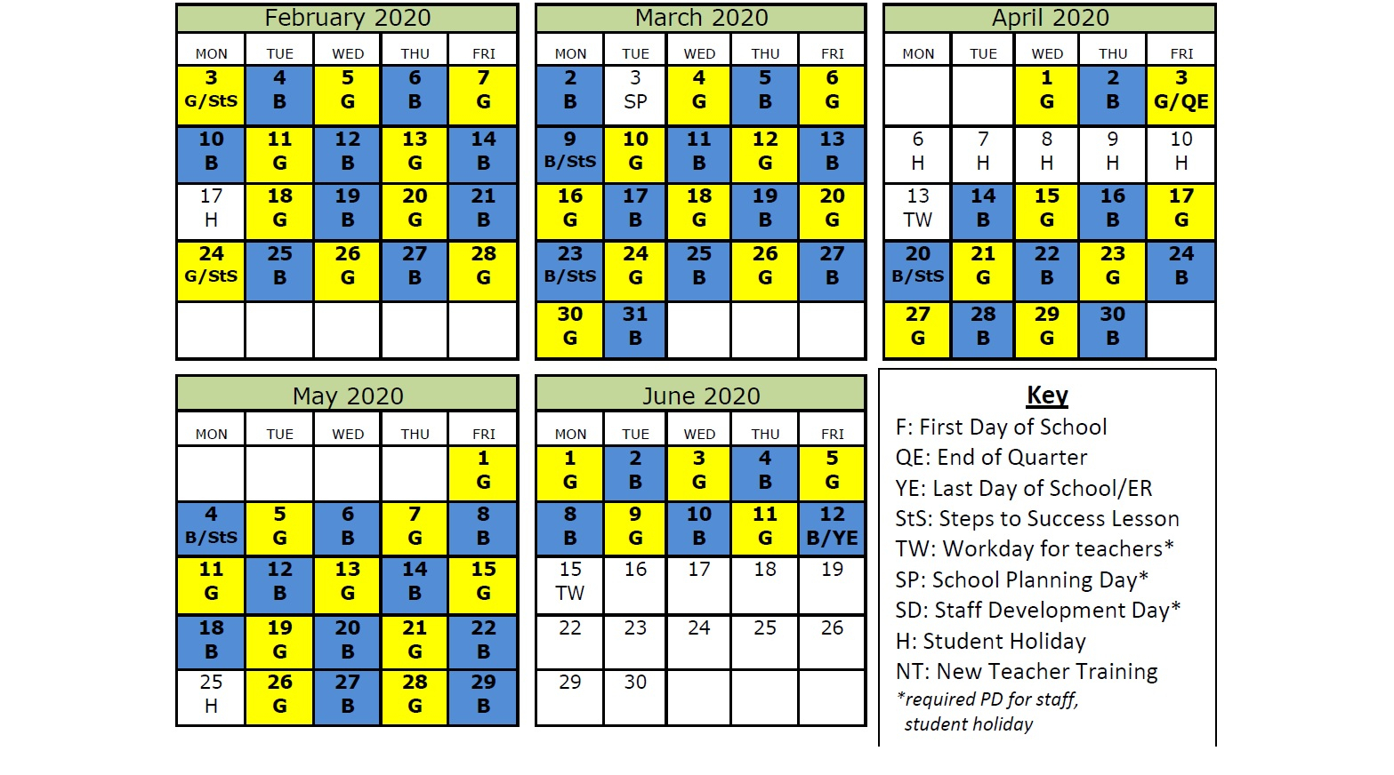 Bluegold Day Calendar | Thoreau Middle School for Thoreau Middle School Blue Gold Calendar