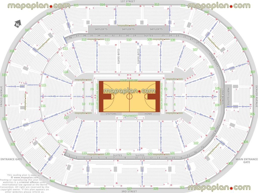 Bok Center Seat Row Numbers Detailed Seating Chart Tulsa For with Bok Center Seating Chart