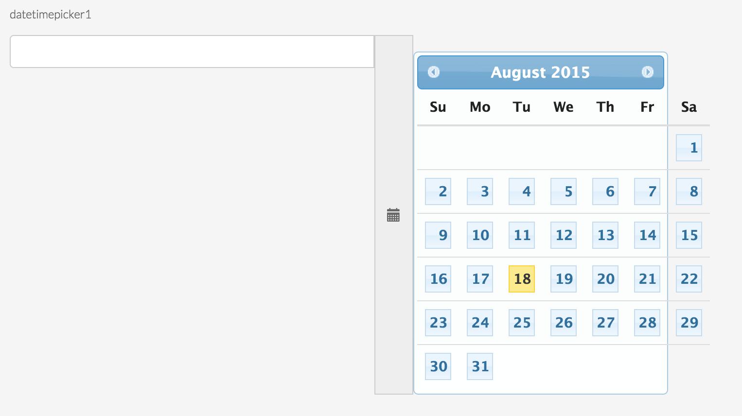 Bootstrap3 Calendar Is Not Working  Stack Overflow regarding Glyphicon-Calendar Not Showing