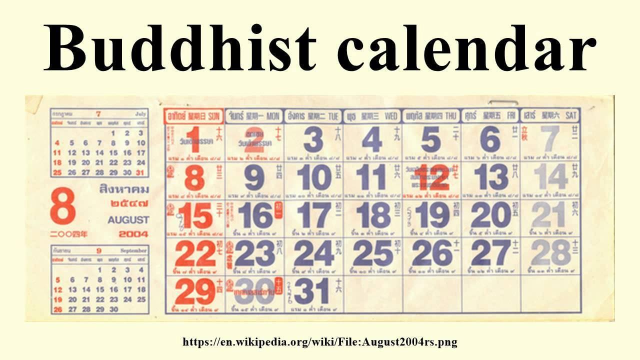 Buddhist Calendar inside Khmer Lunar Calendar 2018