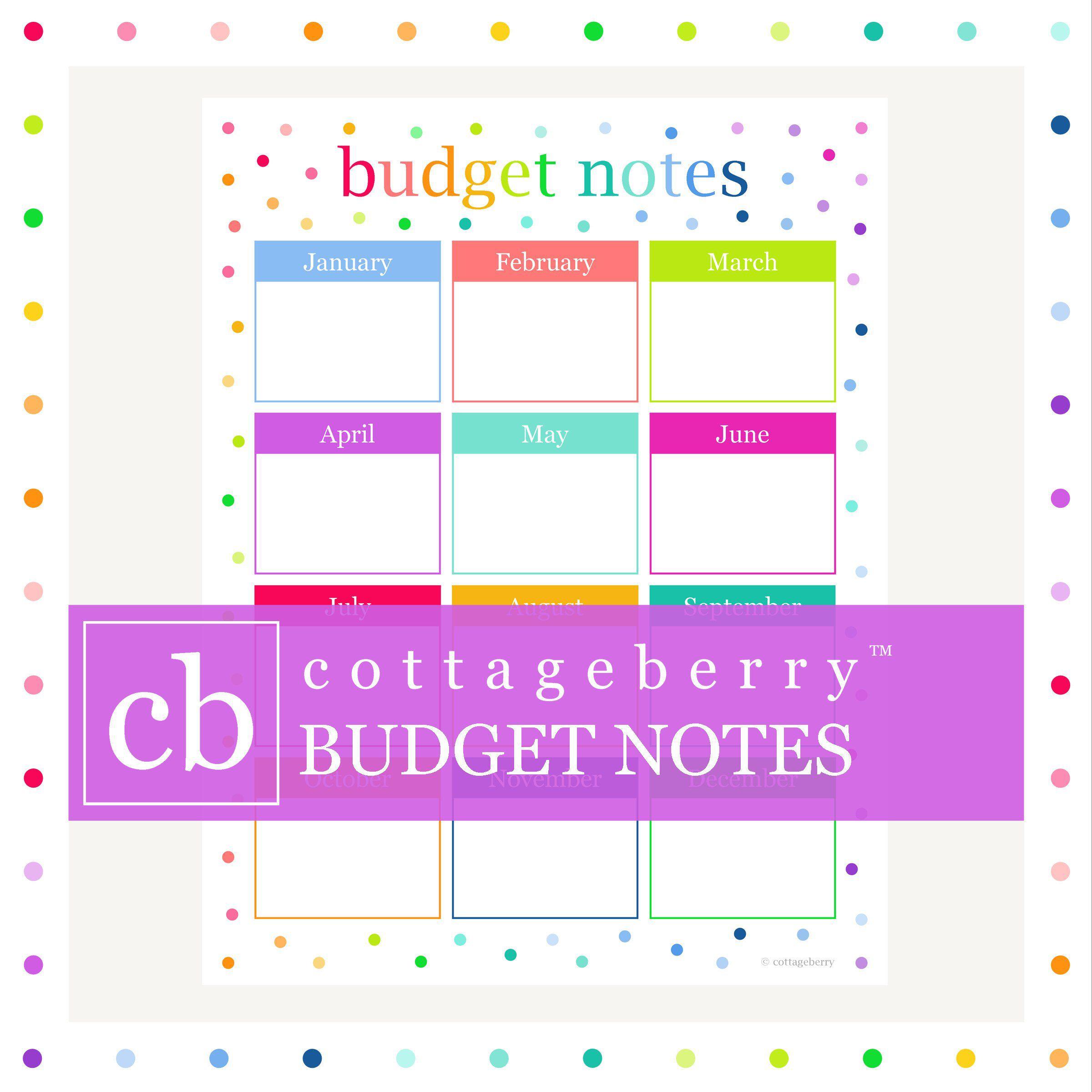 Budget Planner, Budget Printable, Bill Organizer, Budget regarding Printable Bill Organizer