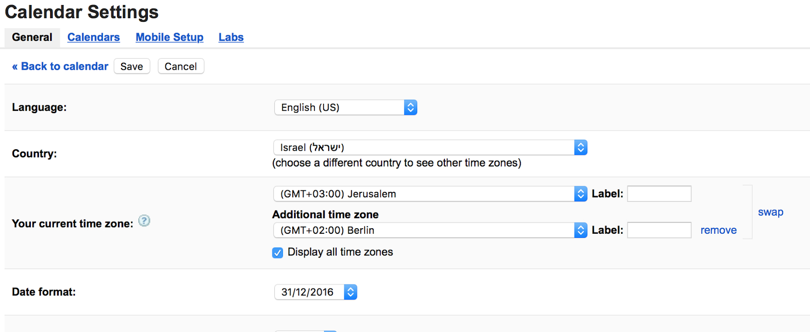 Bug Report: Timezones Are Broken In My Google Calendar within Outlook We Couldn't Find This Meeting In The Calendar