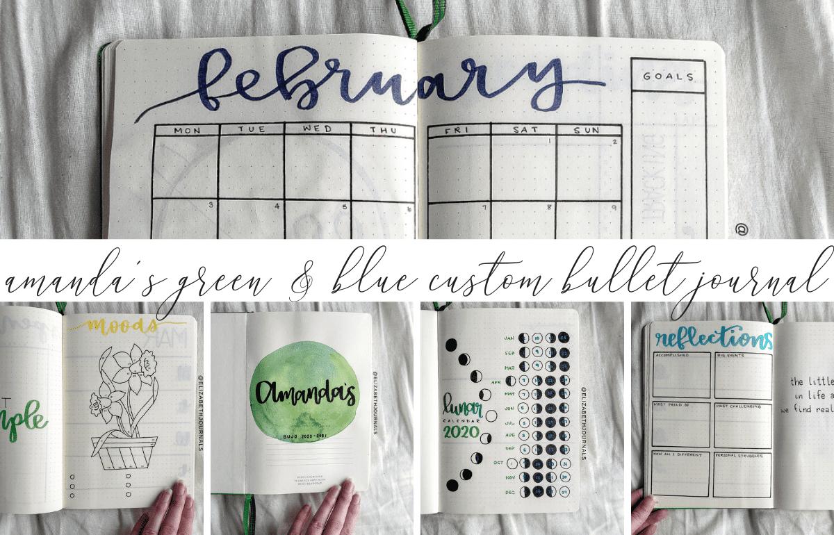 Bullet Journal Archives | Elizabethjournals intended for Om Journal Lunar Calendar