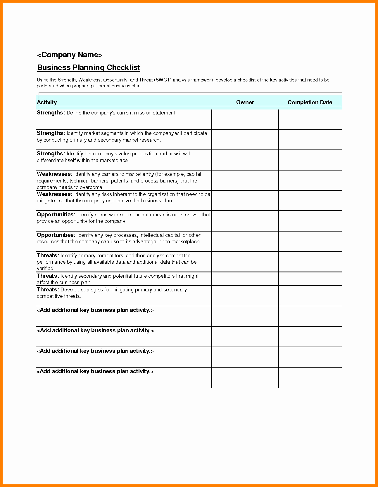 Business Event Checklist Commonly Missed Planning Details pertaining to Event Planning Template Excel