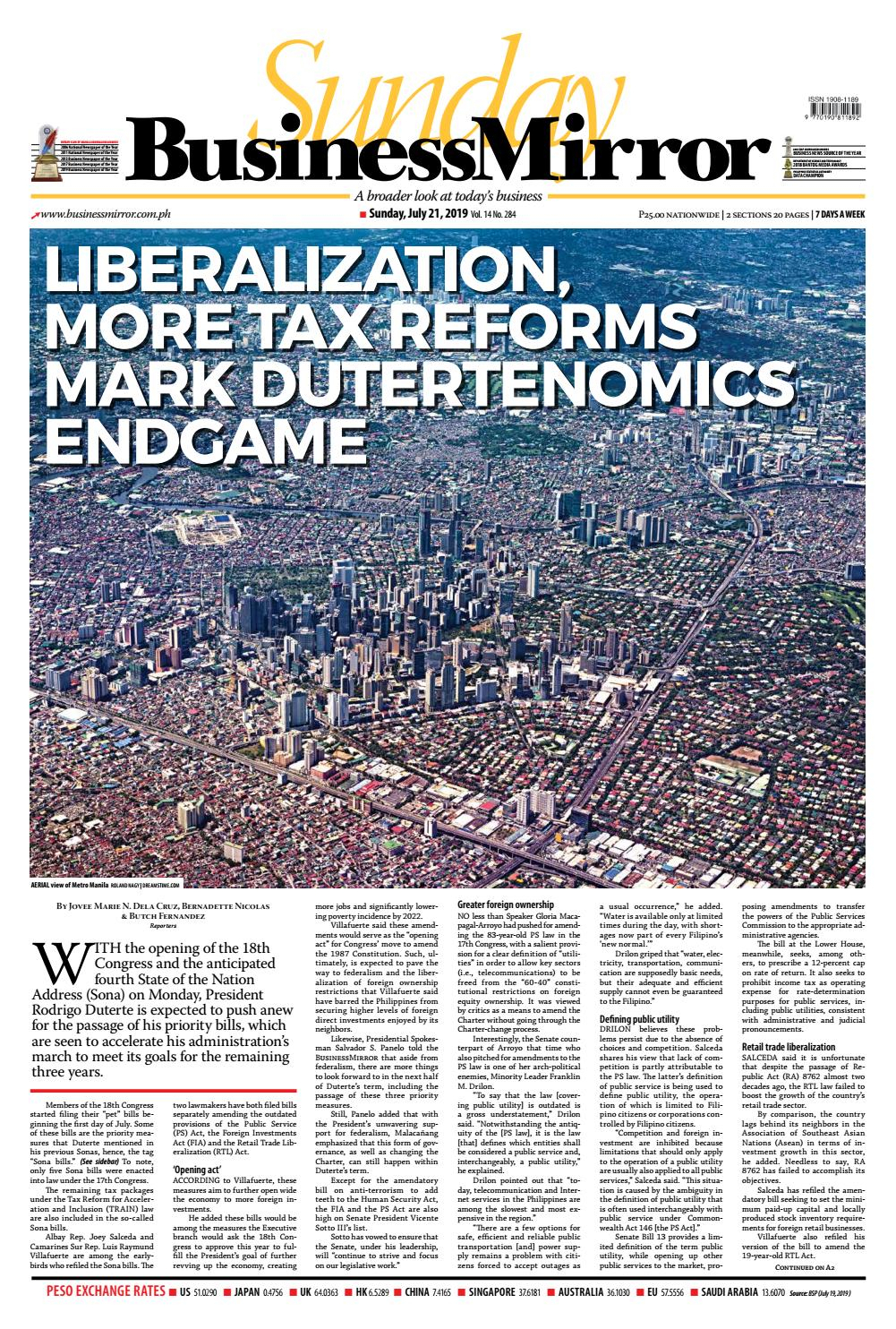 Businessmirror July 21, 2019 By Businessmirror  Issuu with regard to Sabong Moon Calendar