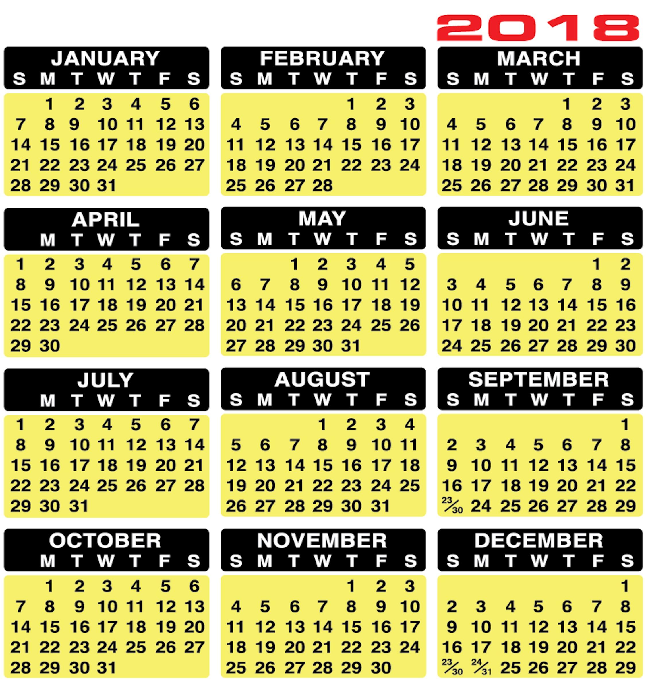 Buy 2020 Designery Calendar Strips inside Keyboard Calendar Strips 2020