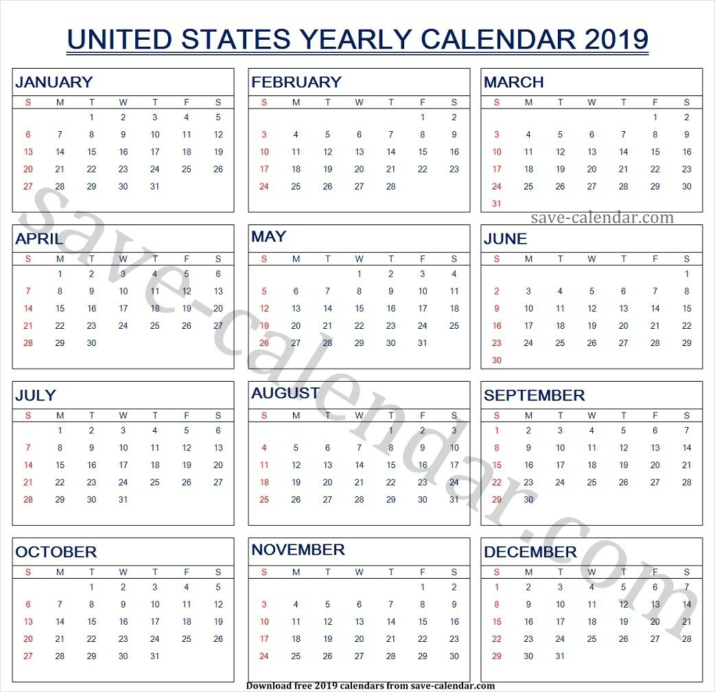 Calendar 2019 Us Holidays | 2019 Calendar, Yearly Calendar for Excel Lunar Calendar Formula