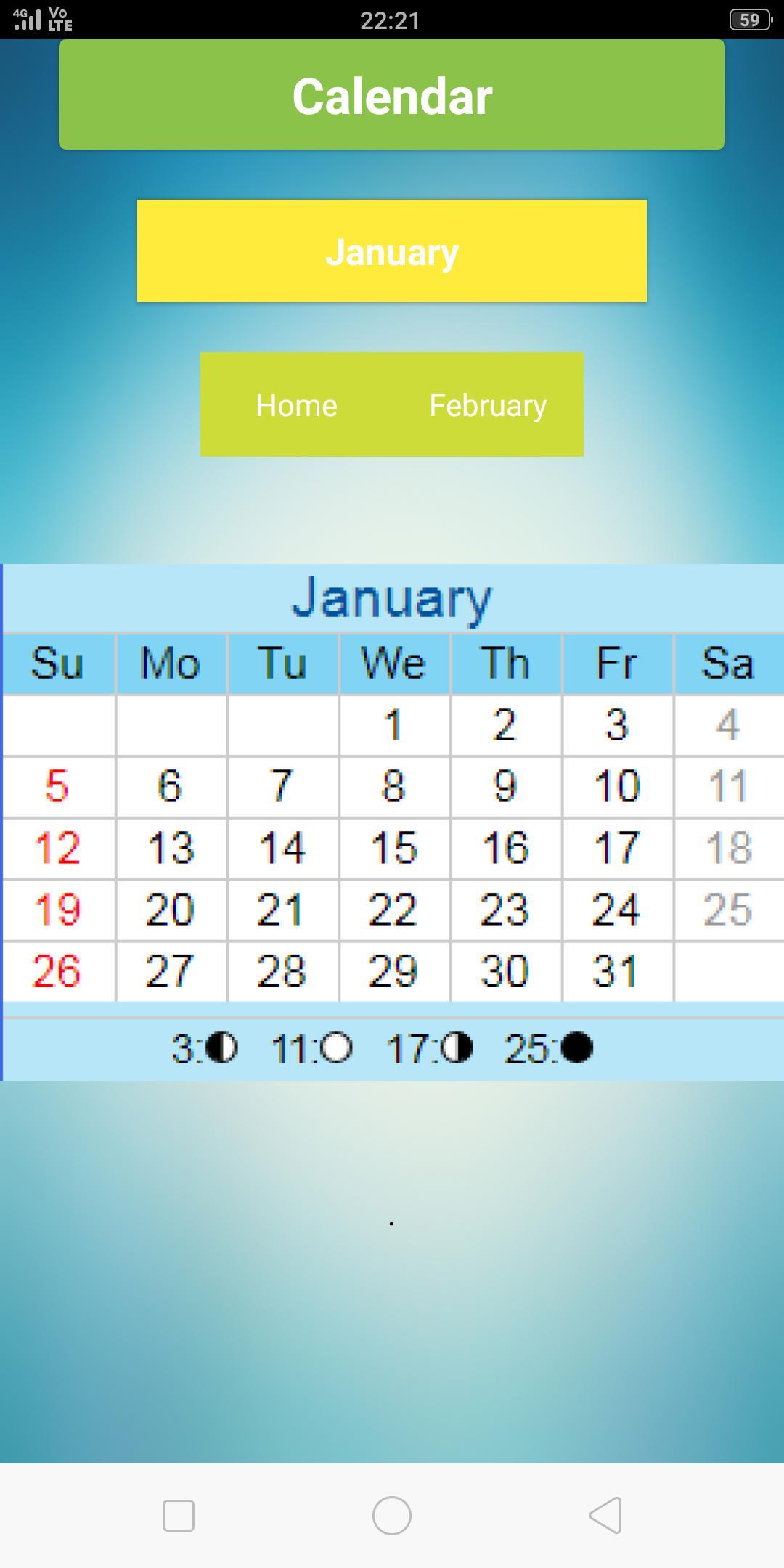Calendar 2020 Для Андроид  Скачать Apk with regard to Lala Ramswaroop Calendar 2020