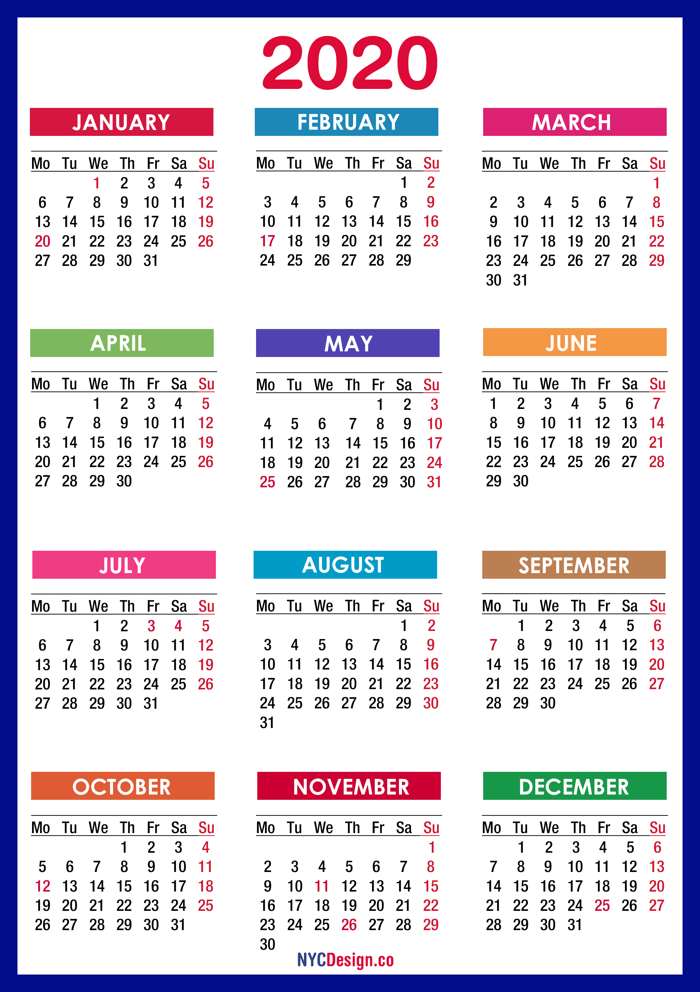 Calendar 2020  Google Search for Blogilates December 2020 Calendar