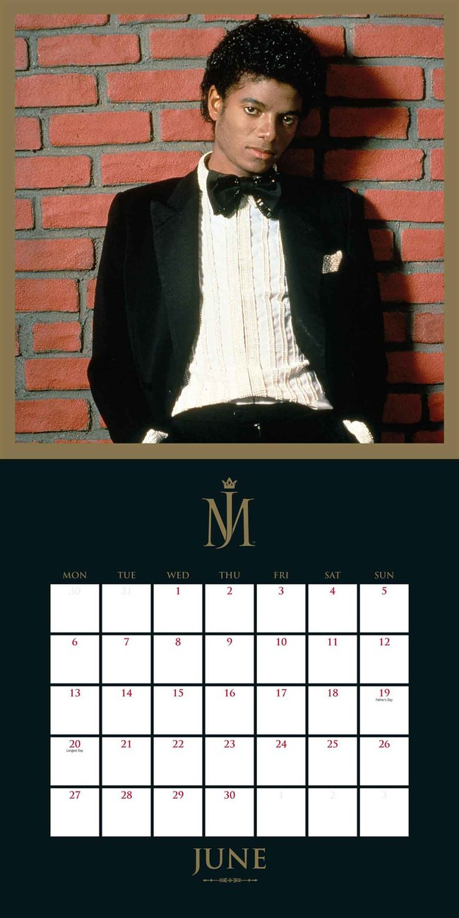 Calendar 2020 Michael Jackson inside Calendario 2020 Michel
