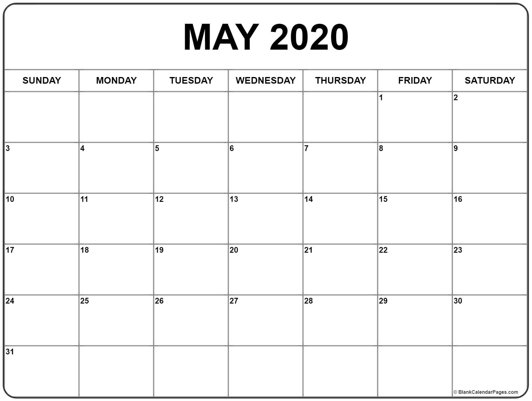 Calendar 2020 Printable Calendar Starting With Monday for Printable 2020 Calendar Starting Monday