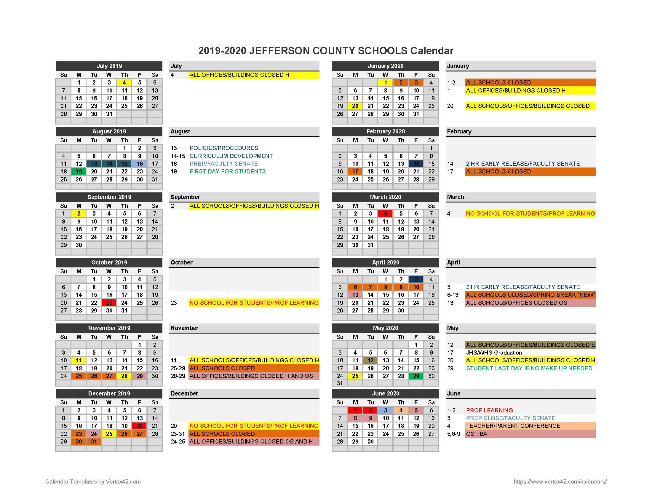 Calendar Amended To Assist Students, Staff  Jefferson with regard to Uc Berkeley Payroll Calendar 2020