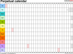 Calendar For Any Year  Bolan.horizonconsulting.co throughout Calendar Wheel Printable