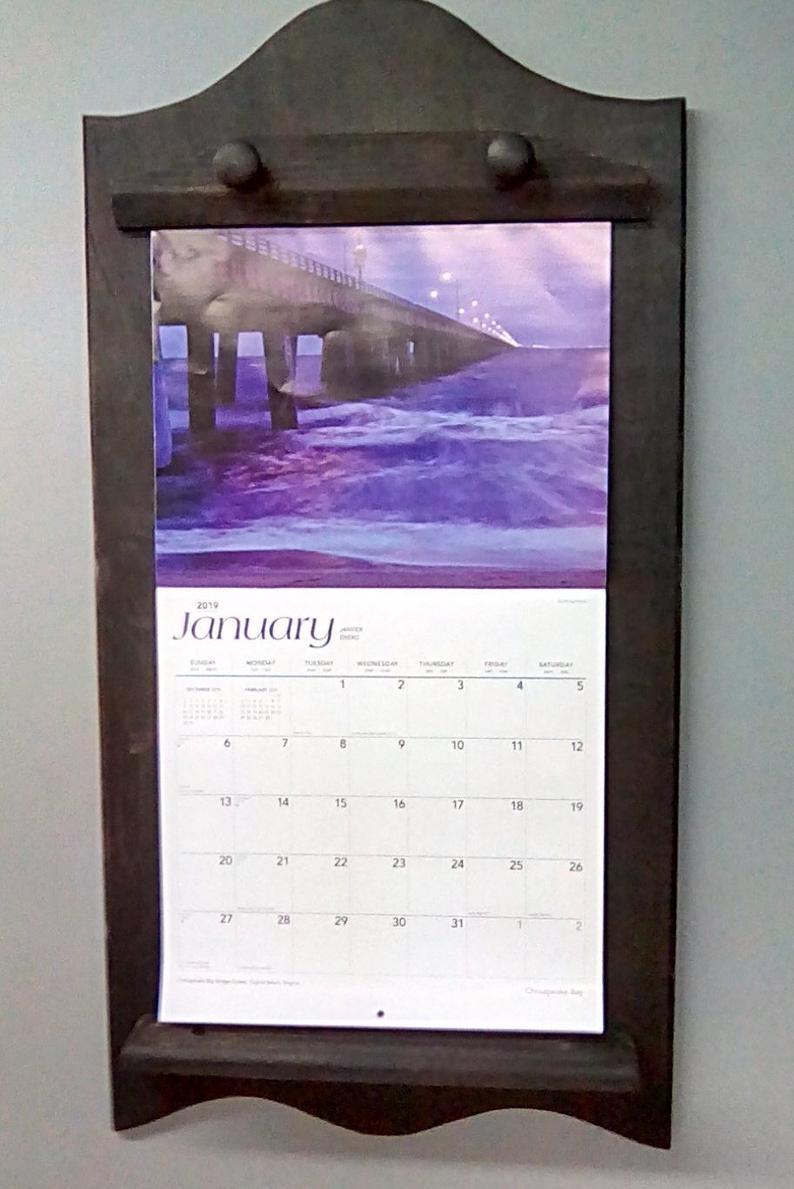 Calendar Holder for 12X12 Calendar Holder