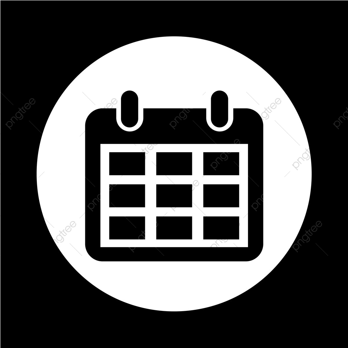 Calendar Icon, Calendar, Icon, Agenda Png And Vector With regarding Calendar Icon White Png