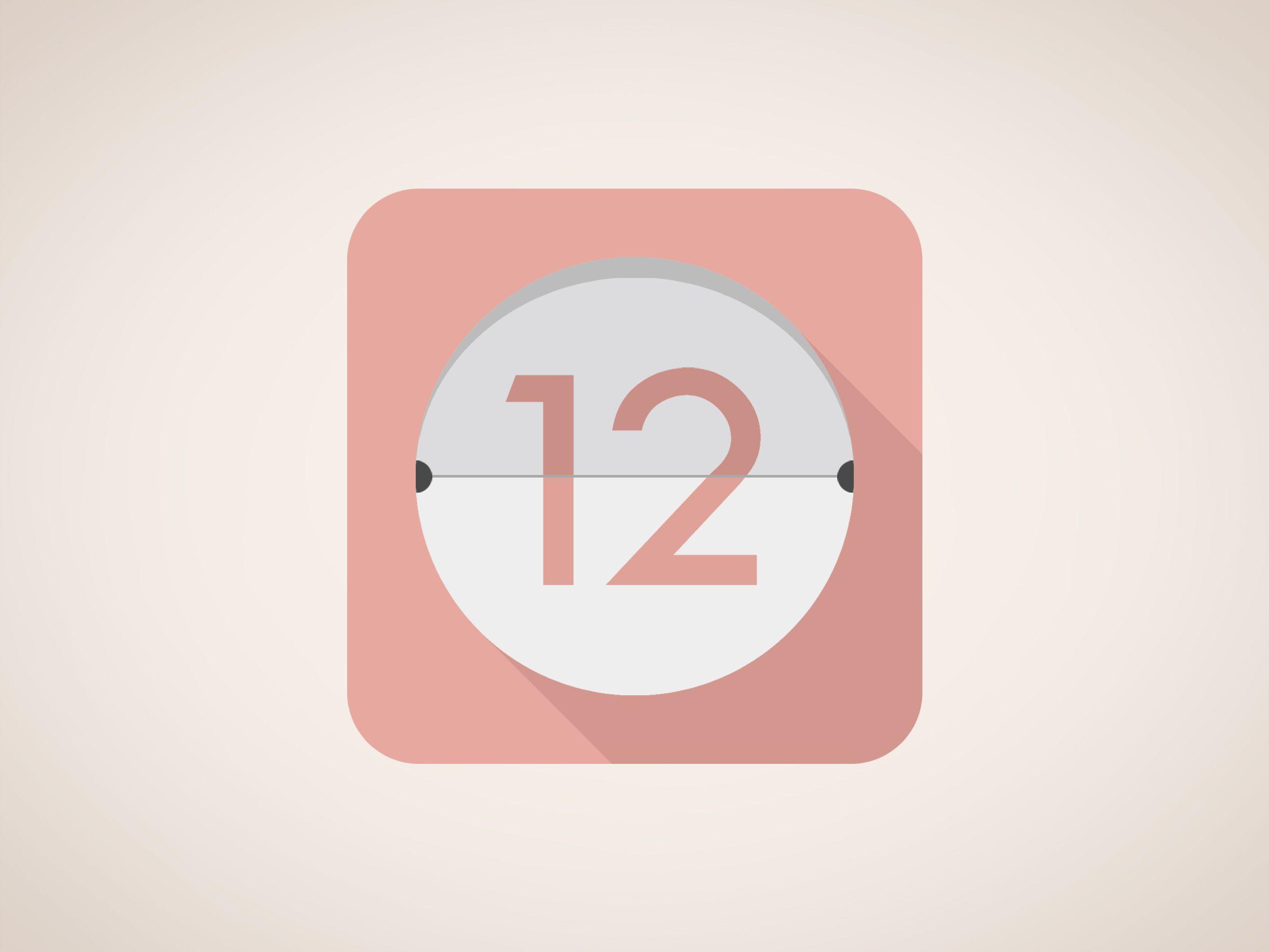 Calendar Icon Design | Calendar Design, Icon Design, Typo Design regarding Apple Calendar App Icon