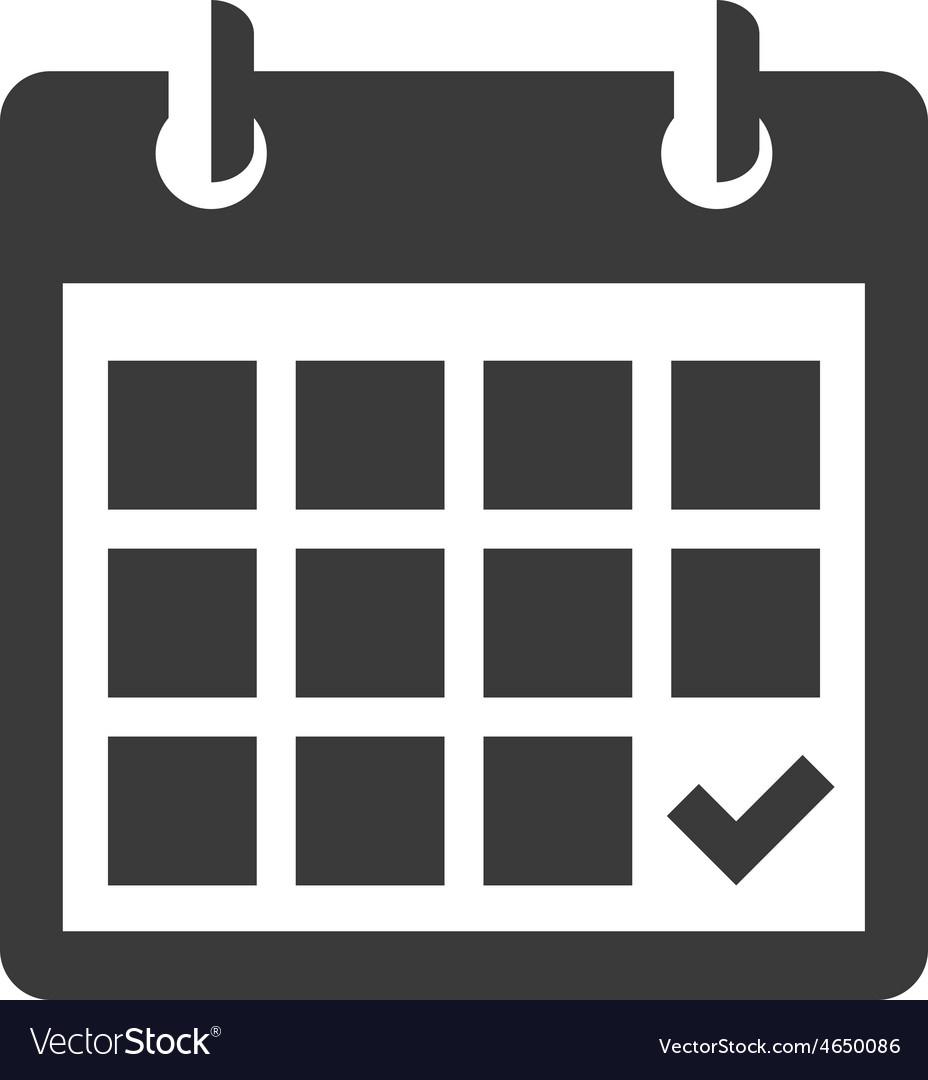 Calendar Icon in Icon Calendar Vector