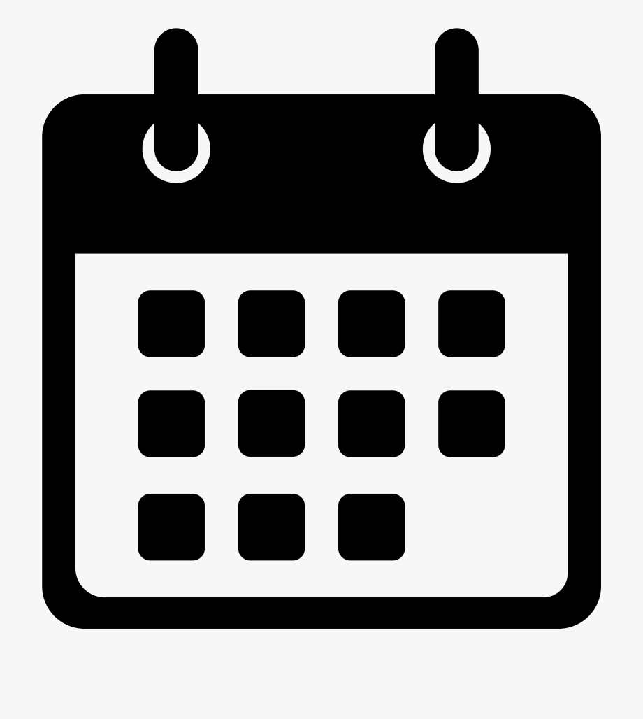 Calendar Icon Png Date  Events Icon White Png , Transparent with Calendar Icon White