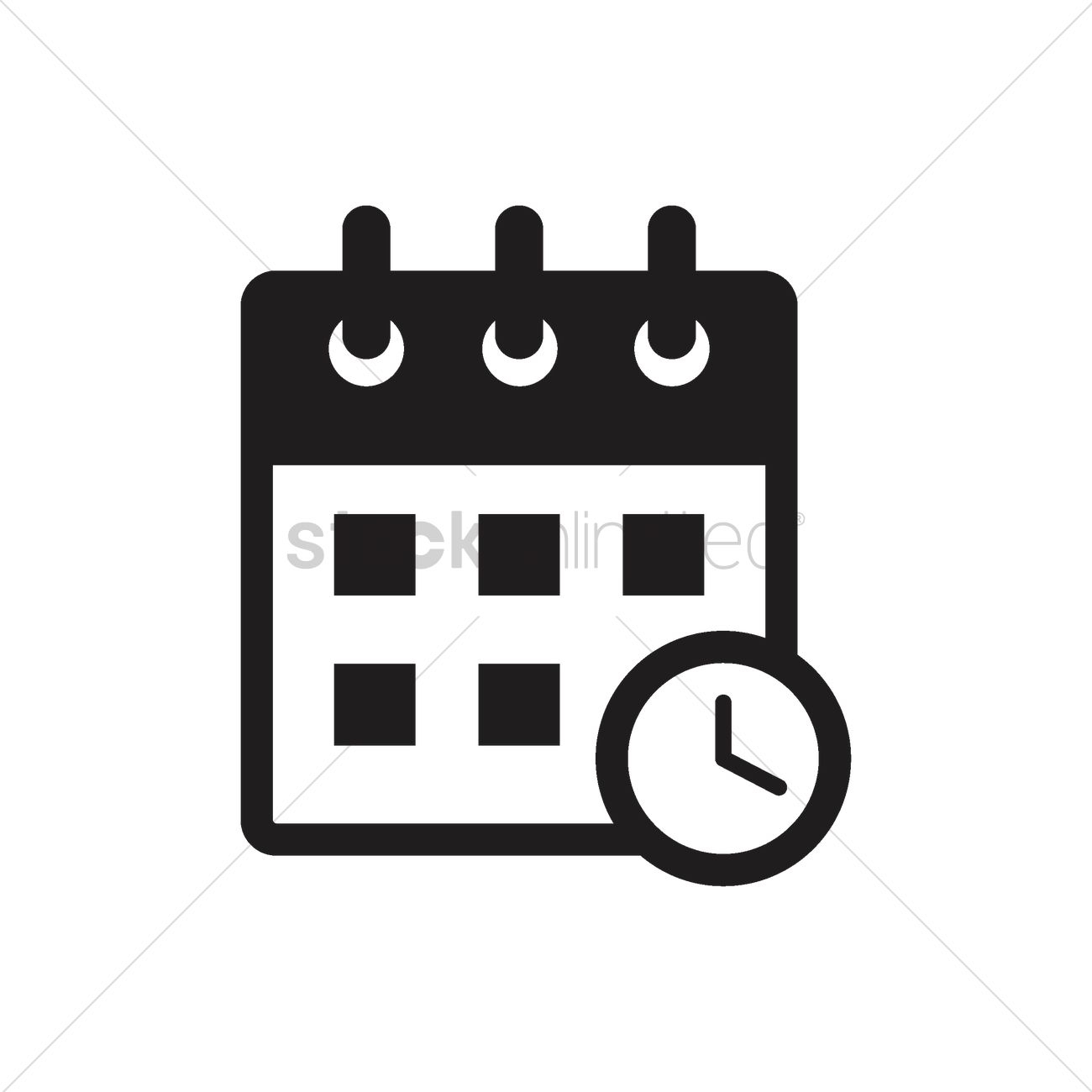 Calendar Icon Vector Image  2002709 | Stockunlimited throughout Calendar Icon Jpg