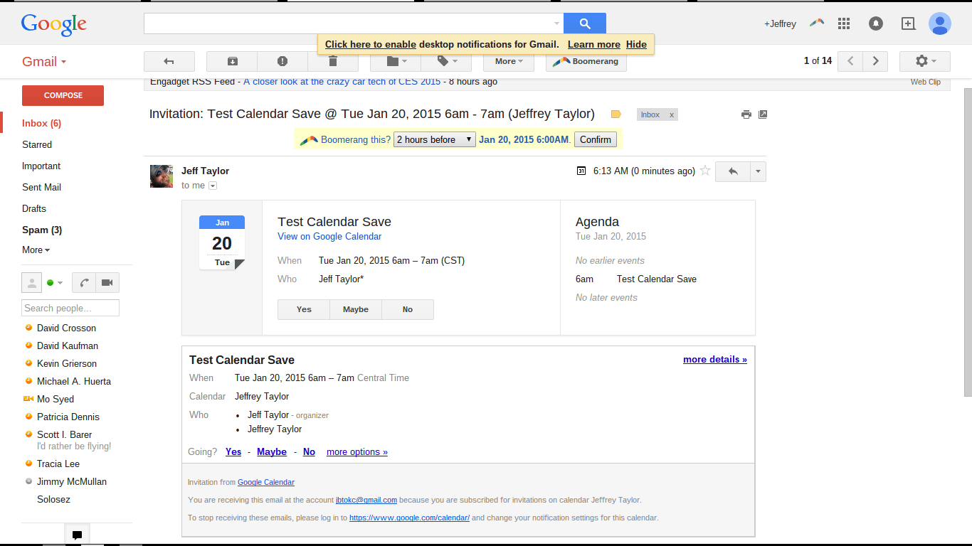 Calendar Invite  Yatay.horizonconsulting.co for Sharepoint Calendar Invite Attendees