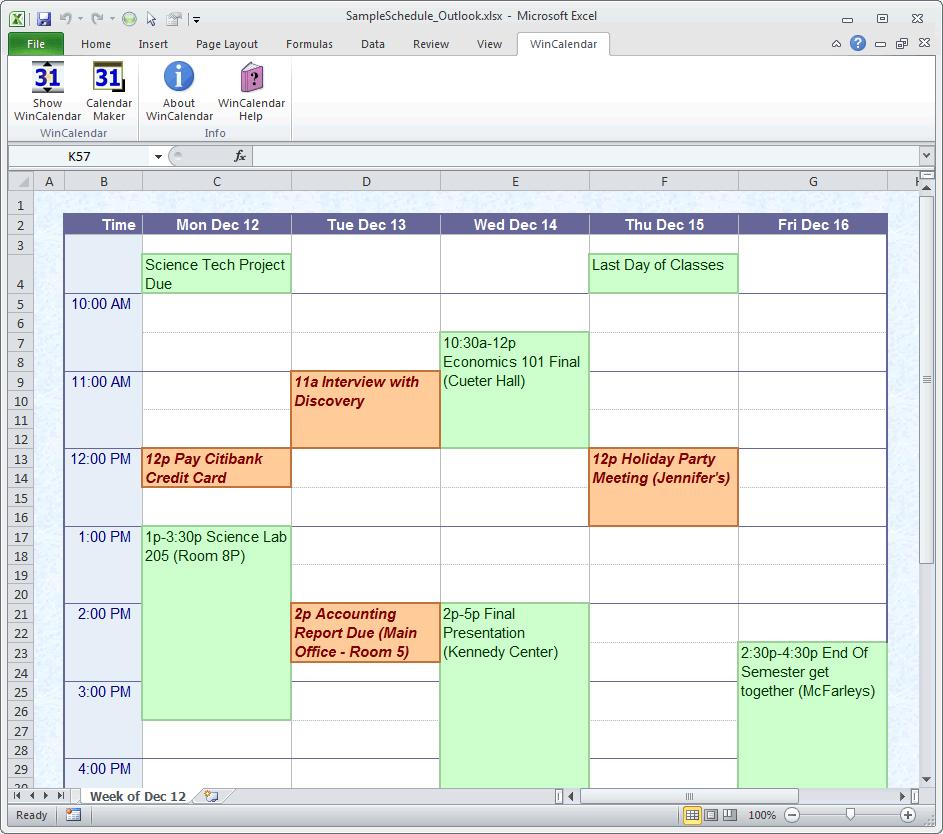 Calendar Maker & Calendar Creator For Word And Excel inside Win Calendar Maker