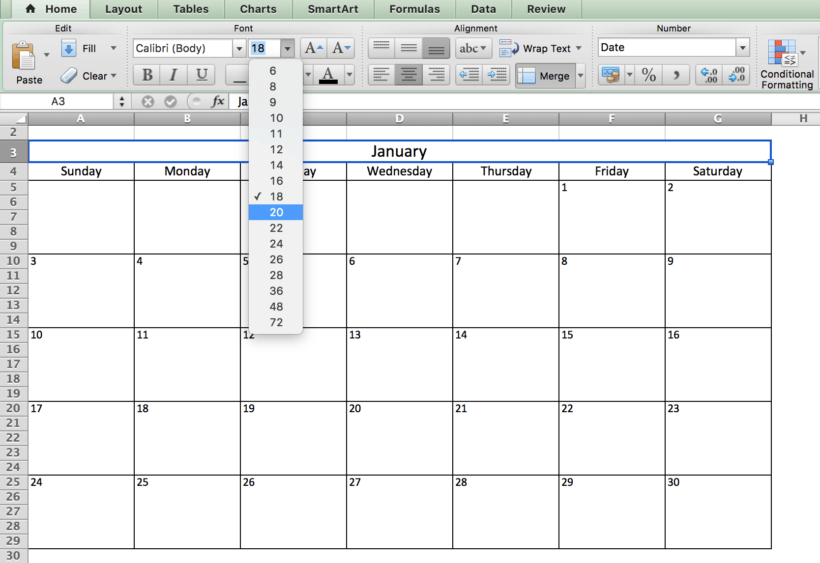 Calendar Ms Excel  Bolan.horizonconsulting.co for Calendar With Excel
