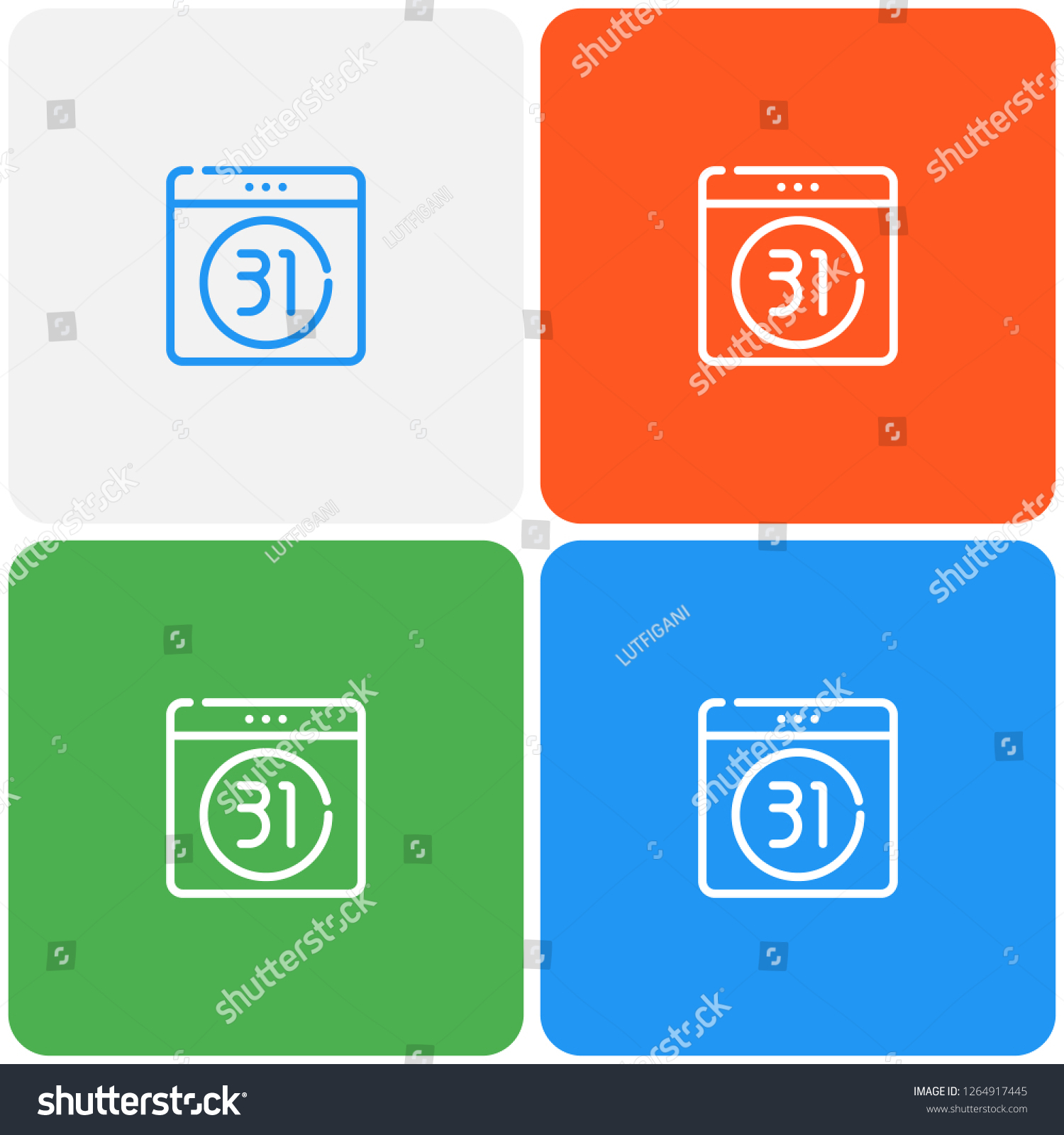 Calendar Outline Flat Icon Material Design Stock Vector with Material Design Calendar Icon