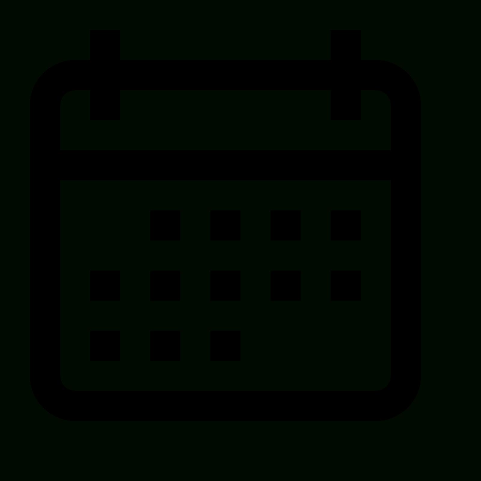 Calendar , Picture #485765 Calendar Icon Png Transparent throughout Calendar Icon Noun Project