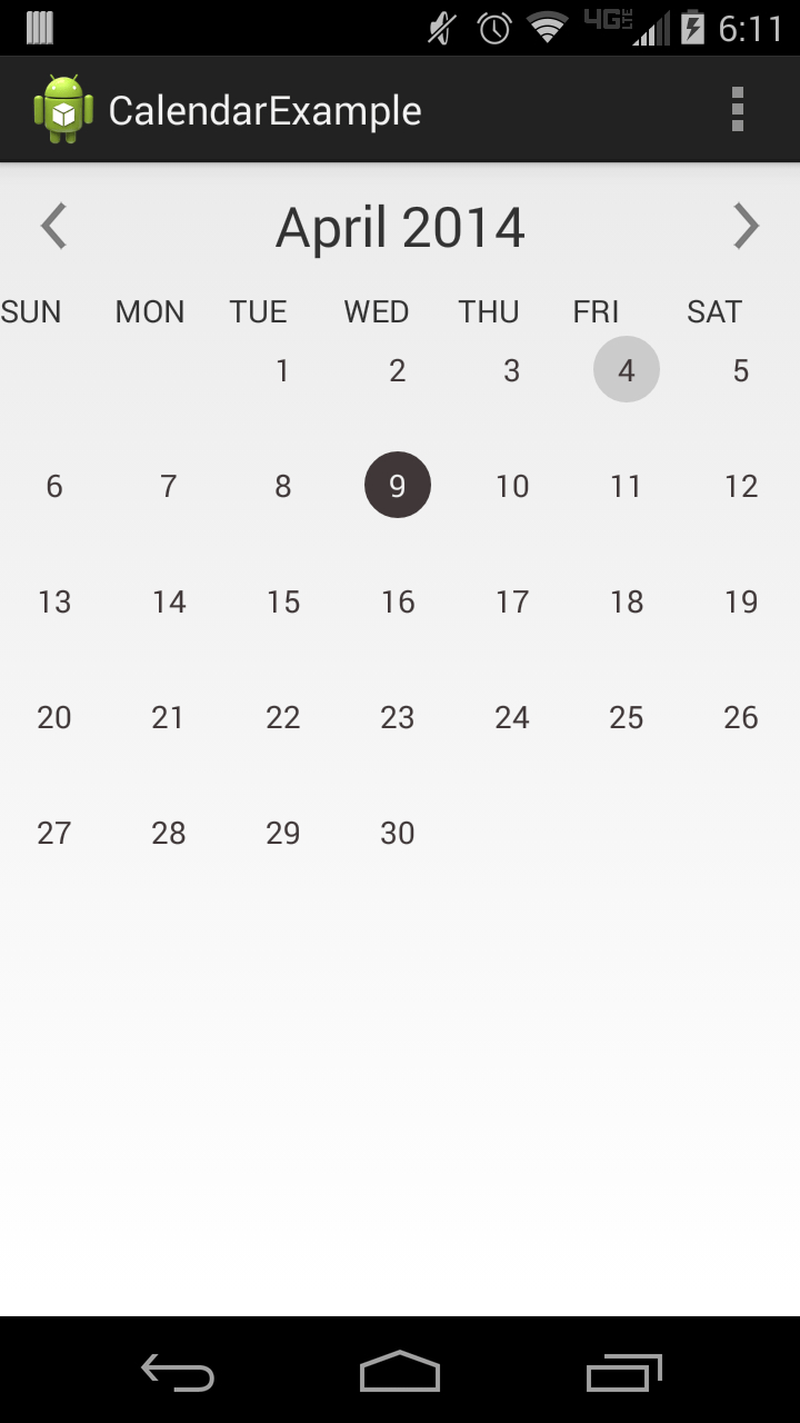 Calendar Provider Apk | Cool Calendars To Print throughout Android Arsenal Calendar
