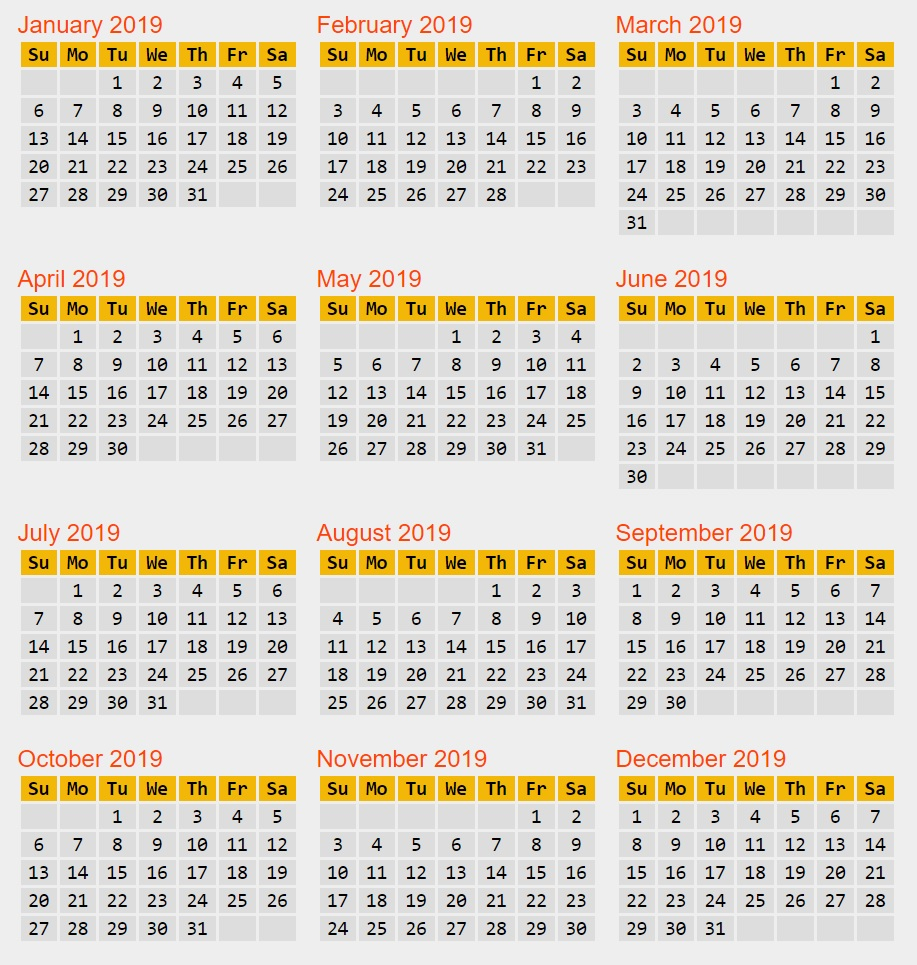 Calendar Reform Needed? pertaining to Non Leap Year Calendar