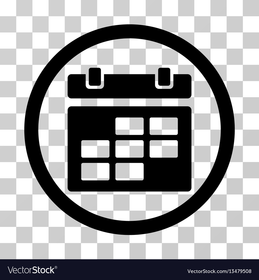 Calendar Rounded Icon regarding Round Calendar Icon