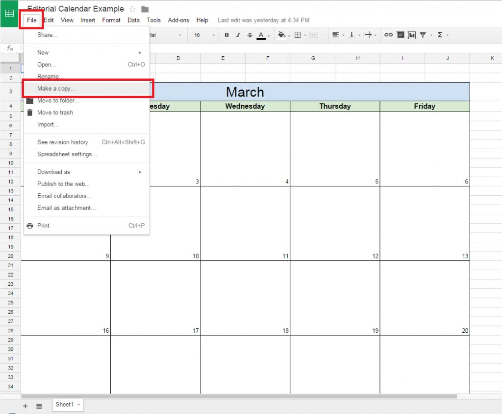 Calendar Template Doc  Yatay.horizonconsulting.co with regard to Calendar Template Google Docs Spreadsheet
