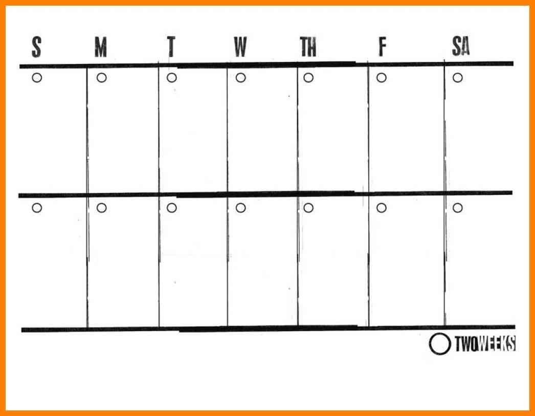 Calendar Two Weeks 6 – Elsik Blue Cetane | Blank Calendar regarding Two Weeks Calendar