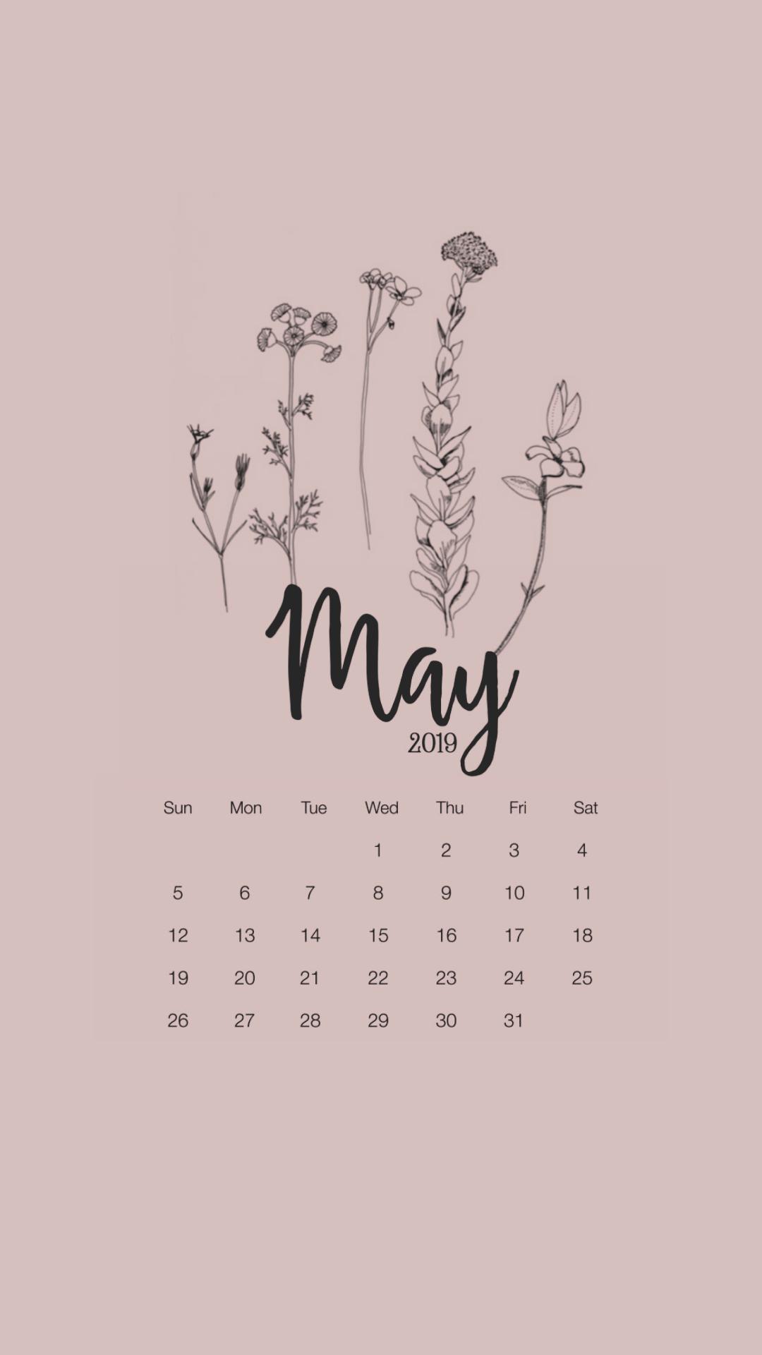 Calendar Wallpaper | Tumblr with Studyblr Calendar 2020
