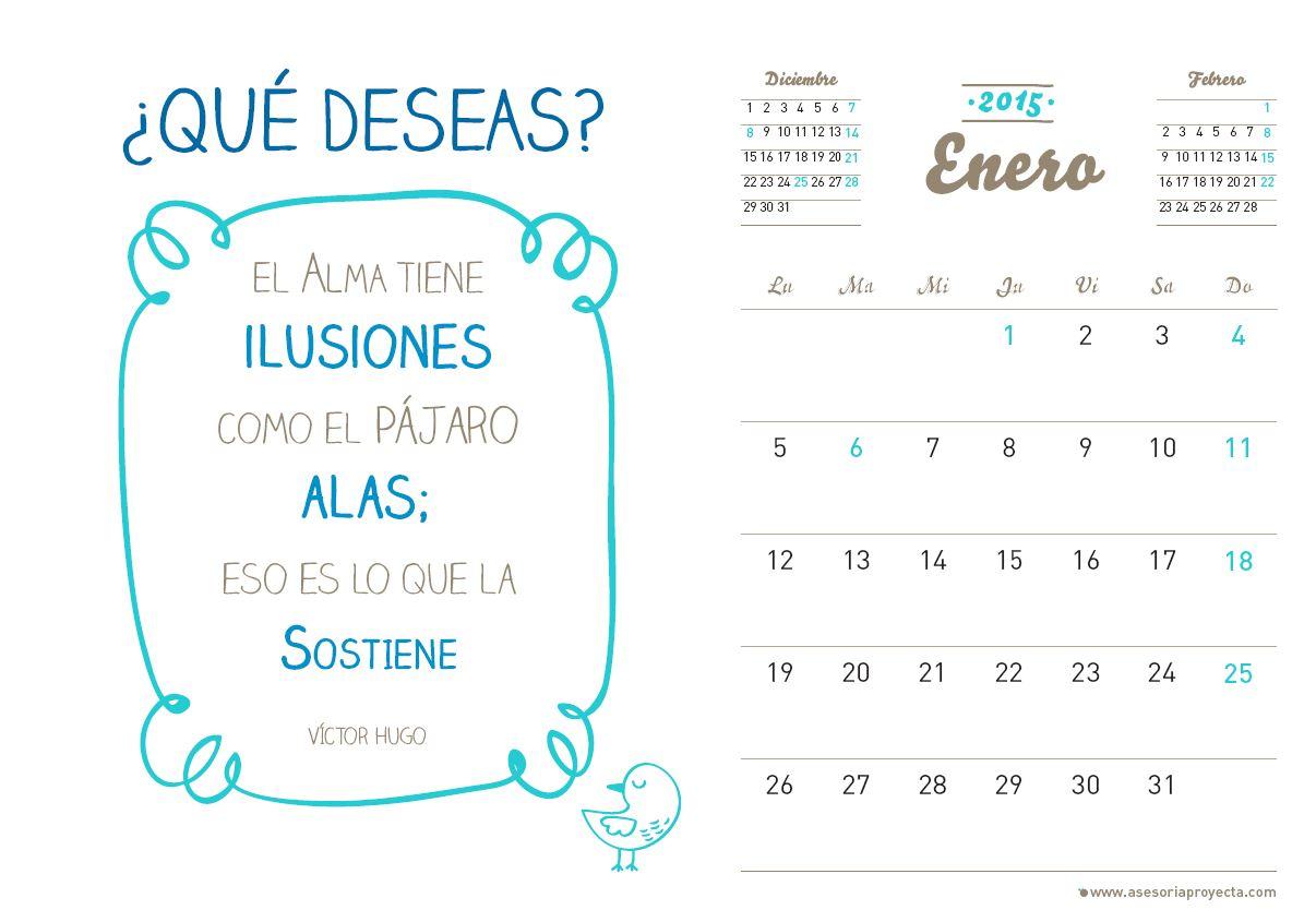 Calendario Enero 2014 Para Imprimir in Calendario 2015 Para Imprimir