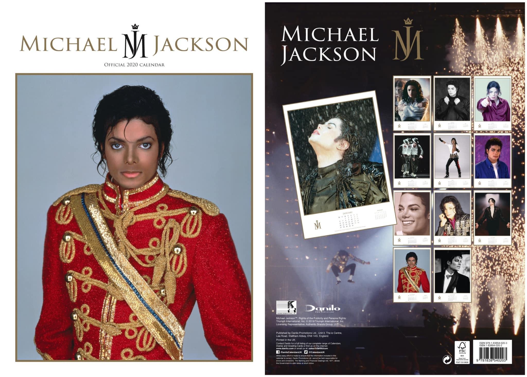 Calendario Oficial De Mj Para 2020 | Michael Jackson's Hideout in Calendario 2020 Michel