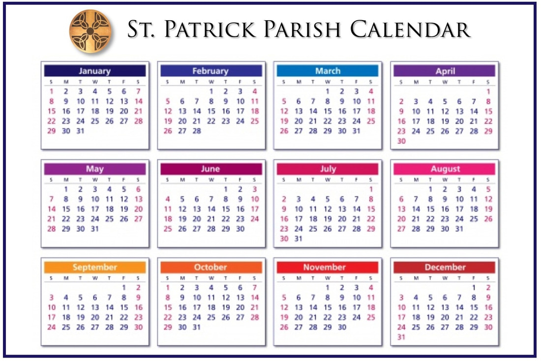 Calendars intended for Catholic Extension Calendar