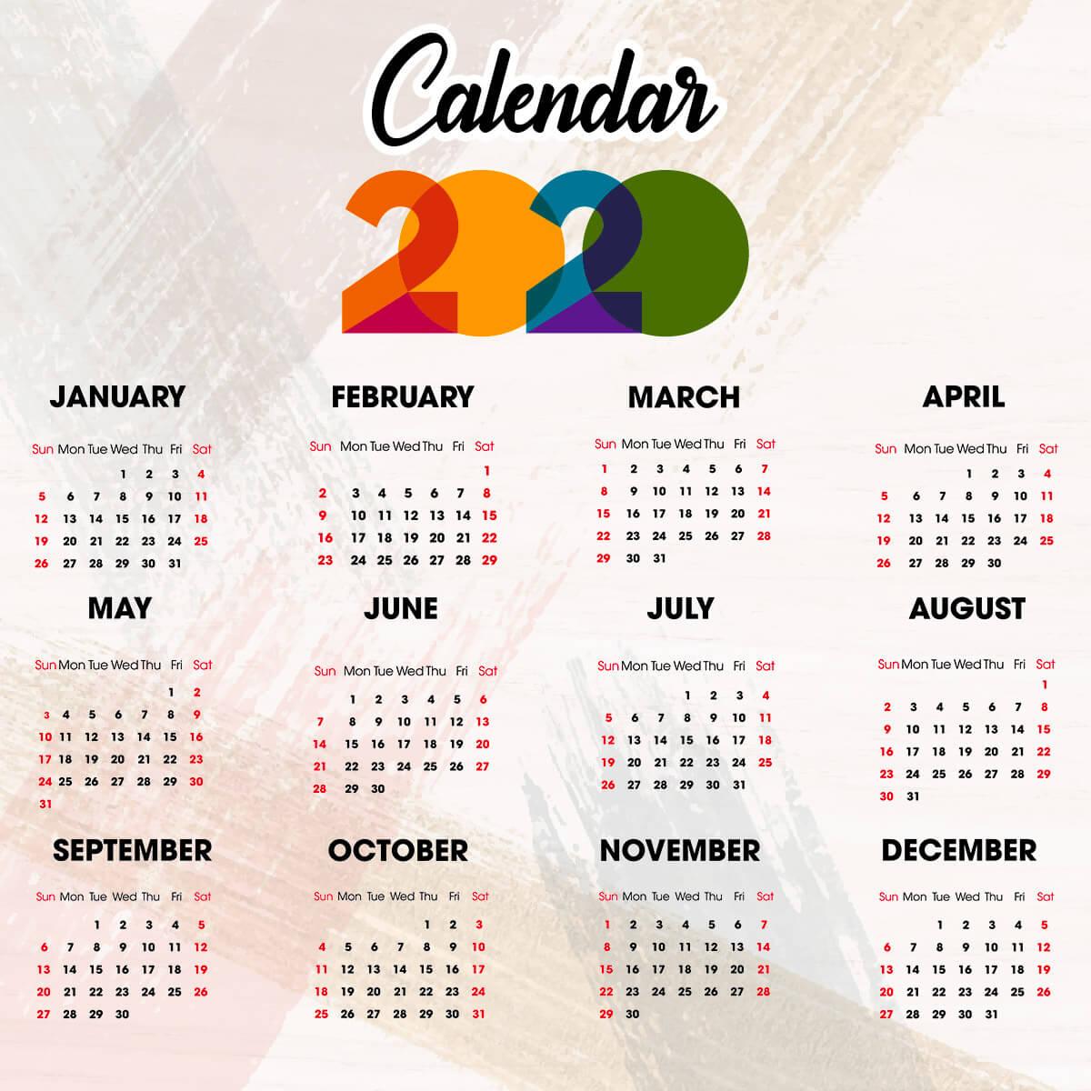 Calendarul Zilelor Libere In 2020 | Ziarul Profit intended for Calendar 2020 Zile Lucratoare