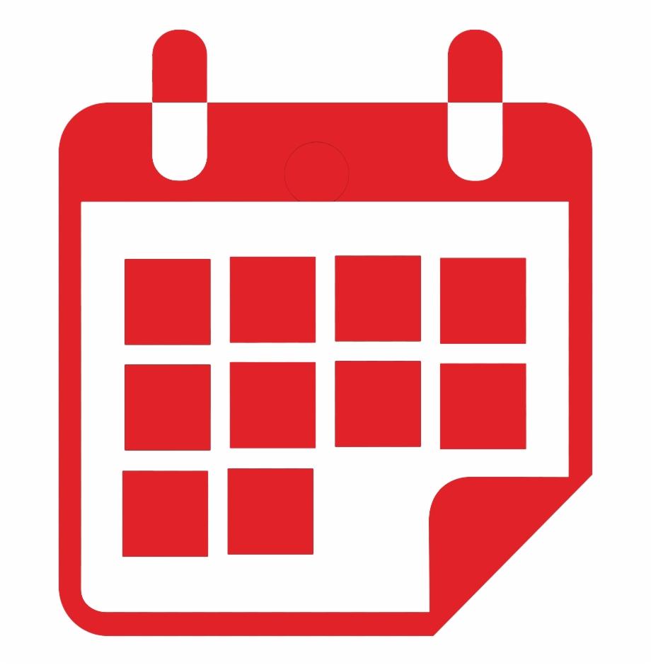 Calendericon  Calendar Icon Png White | Transparent Png with regard to Red Calendar Icon Png