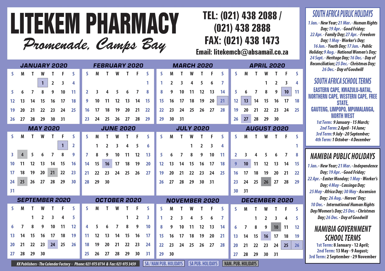 Calenders  Kk Publishers Newsletter Factory with Eastern Cape School Calendar