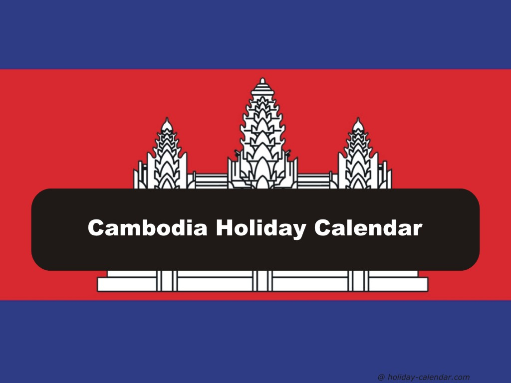 Cambodia 2019  2020 Holiday Calendar with Khmer Calendar 2020 October