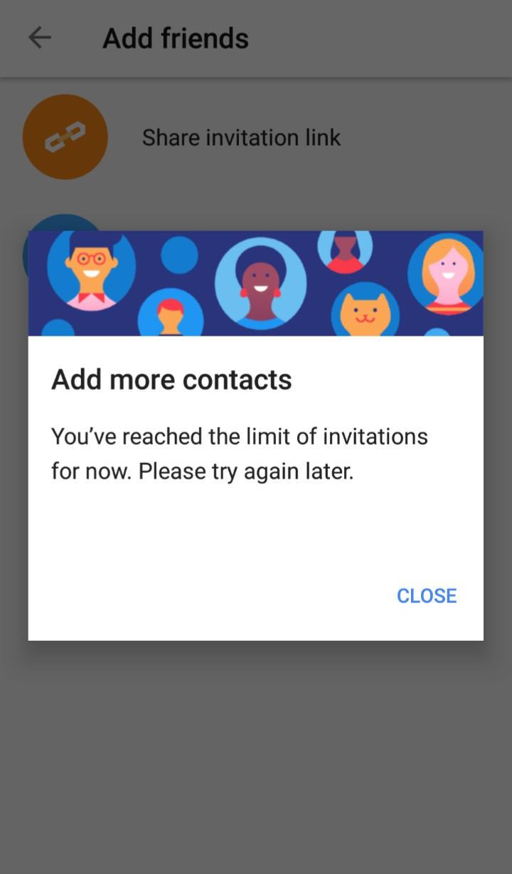 Cannot Send Invitation Links To Youtube Chats  Youtube Help with regard to Your Response To The Invitation Cannot Be Sent