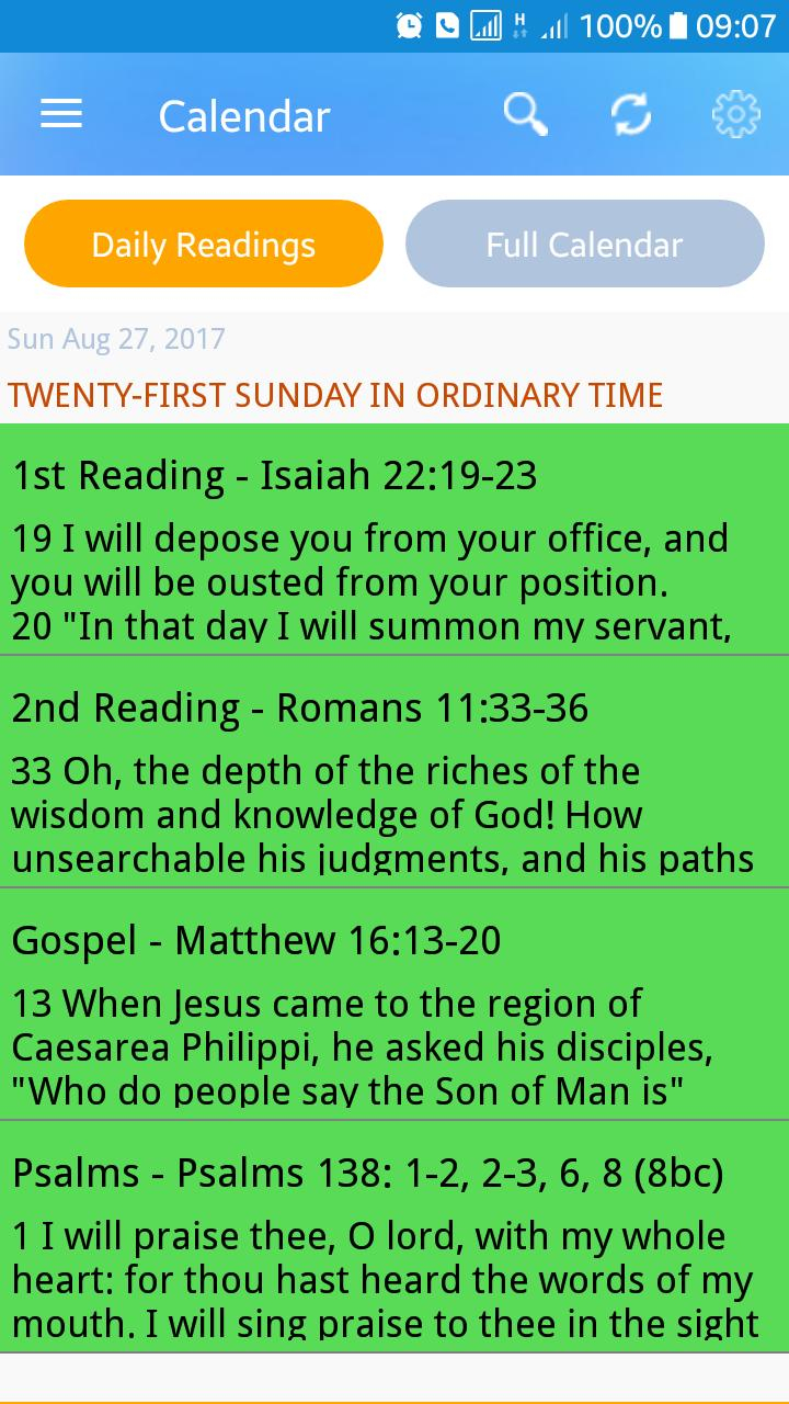 Catholic Liturgical Calendar 2020 For Android  Apk Download within Catholic Liturgical Calendar 2020 With Daily Readings