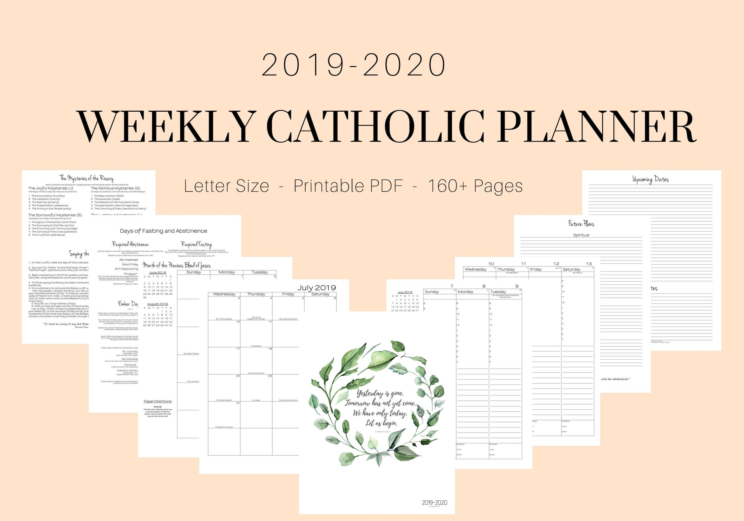 Catholic Liturgical Calendar 2020 Pdf  Calendar Inspiration intended for Liturgical Calendar 2020 Printable