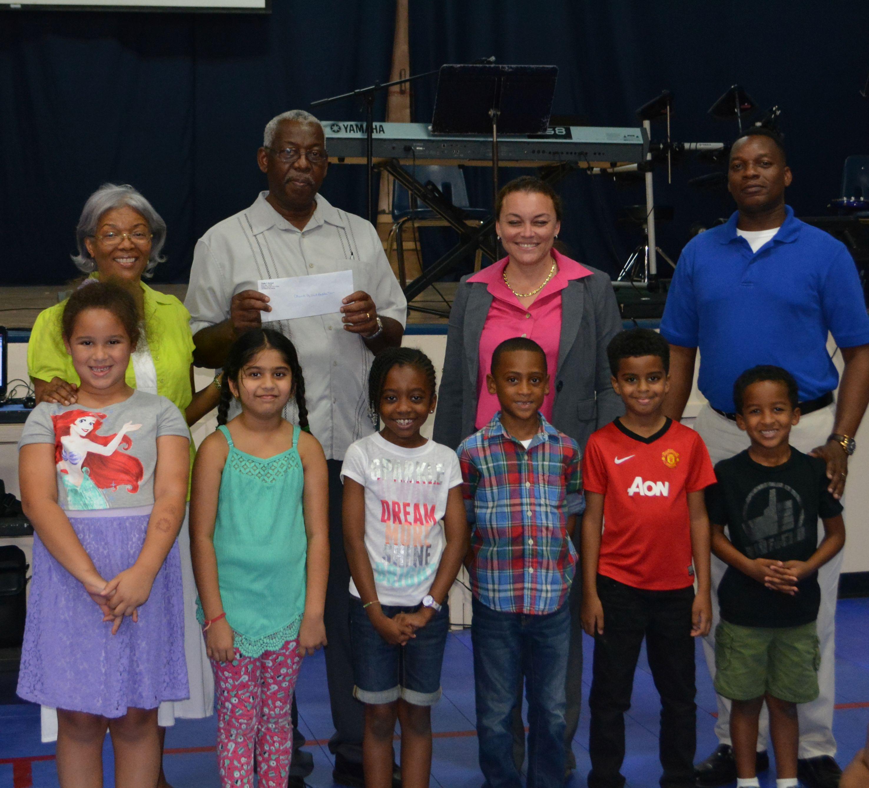 Cayman Islands' Triple C Students Lending A Hand | Ieyenews inside Triple C School