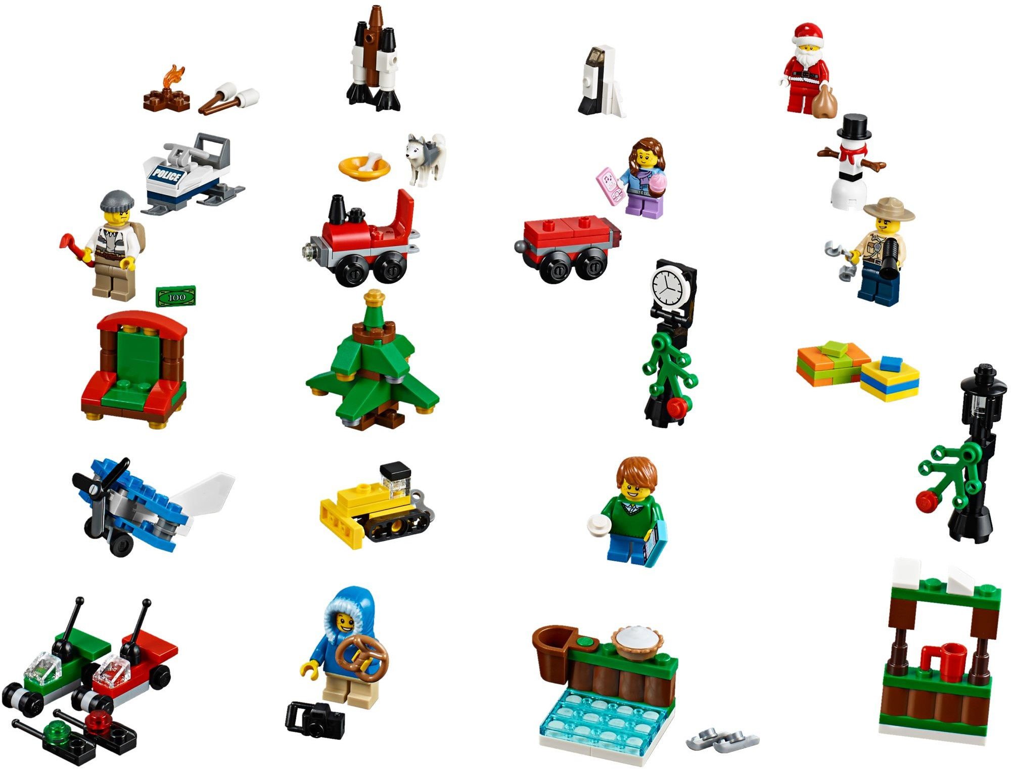 City : Lego City Advent Calendar Instructions 60099 City in Lego Star Wars Advent Calendar 2011 Instructions