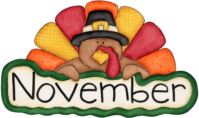 Clipart November within November Calendar Clipart Free