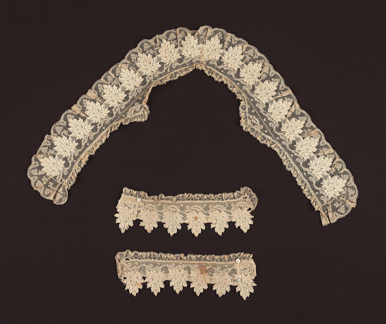 Collar And Pair Of Cuffs | Museum Of Fine Arts, Boston regarding Cuffs And Collars Boston