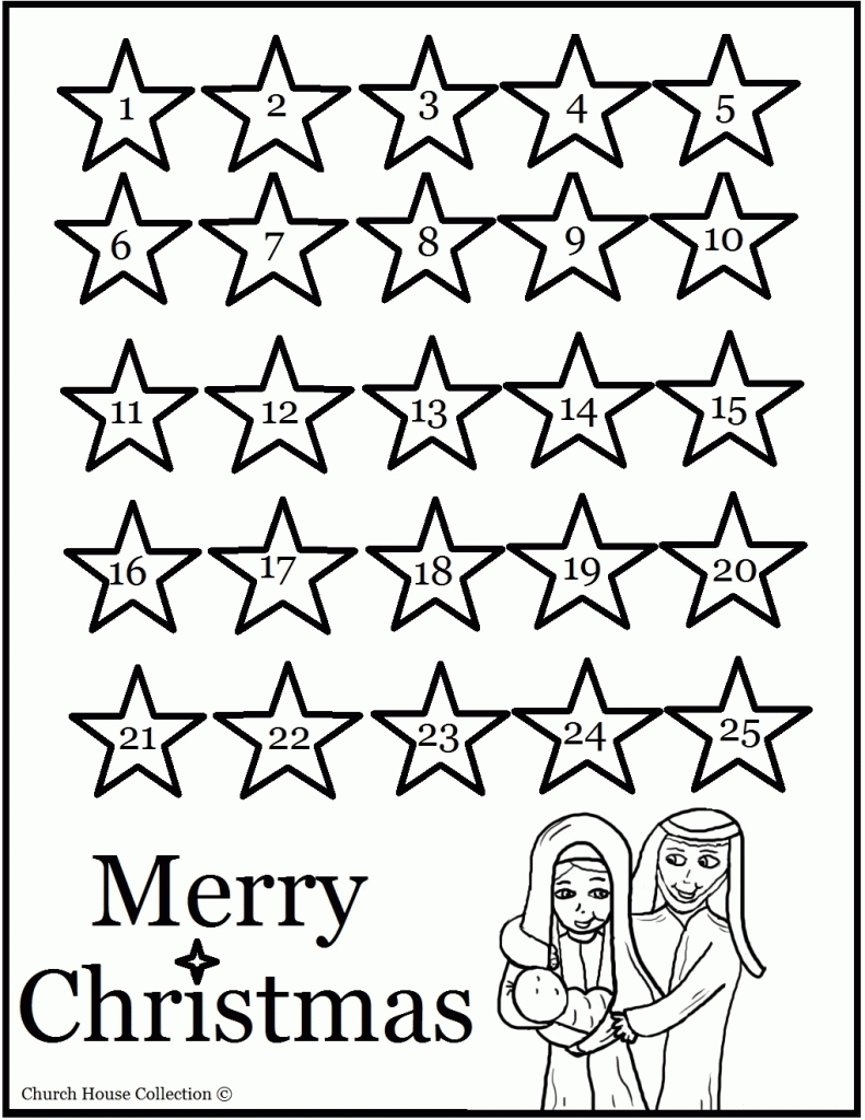 Coloring Pages : Coloring Pages Extraordinary Advent in Catholic Advent Calendar Printable