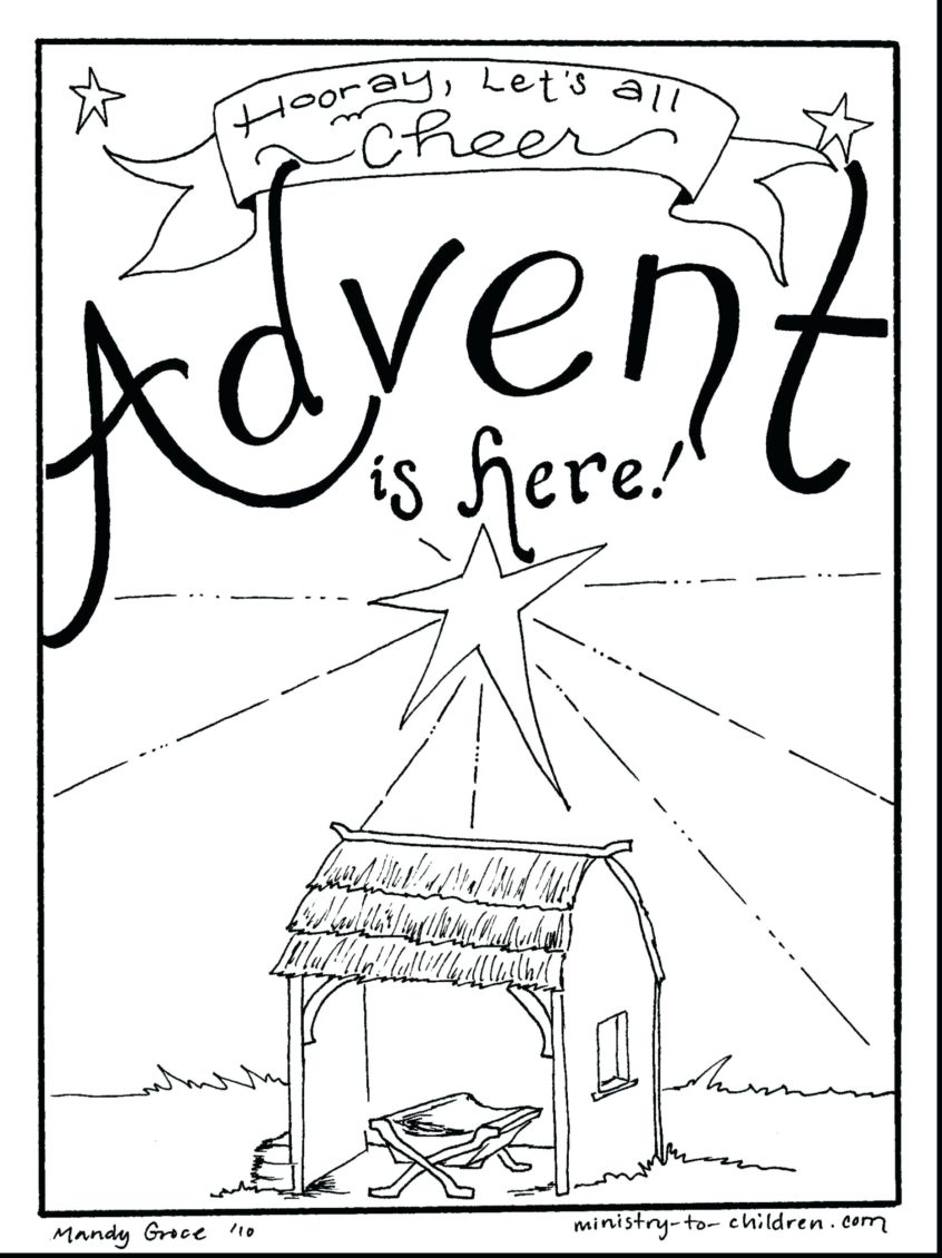 Coloring Pages Ideas : Coloring Pages Ideas Page Advent intended for Catholic Advent Calendar Printable